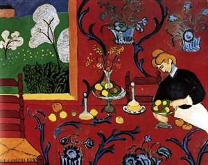La stanza rossa di Matisse