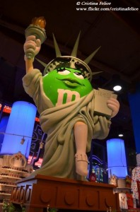 M&M'S STATUE OF LIBERTY NEW YORK
