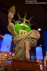 M&M'S STATUE OF LIBERTY NEW YORK