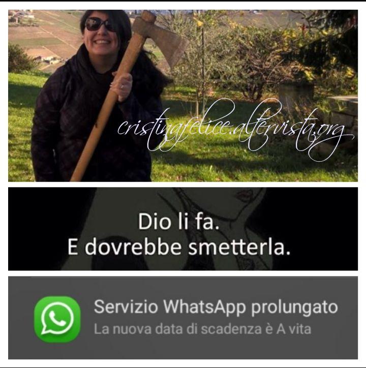 Chi non muore ti scrive su Whatsapp